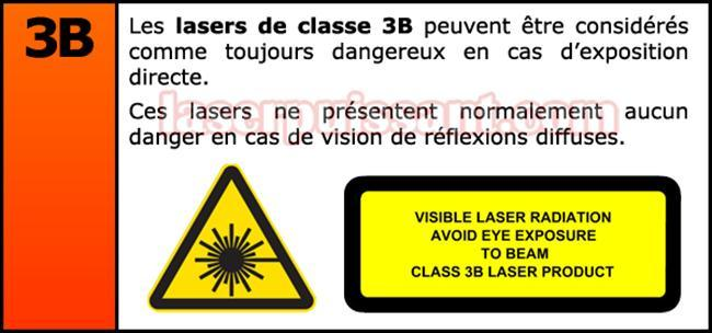 pointeur laser classification fr 3b
