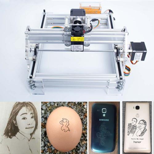 2000mW Machine de gravure laser de bureau