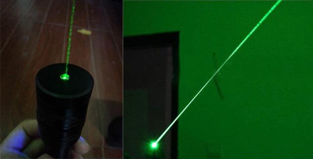 laser 1000mW vert