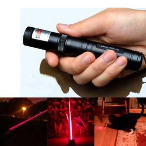 Stylo Pointeur Laser Rouge 200mW