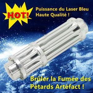 Pointeur laser bleu 10000mW surpuissant