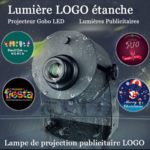 Led logo publicité lampe de projection laser