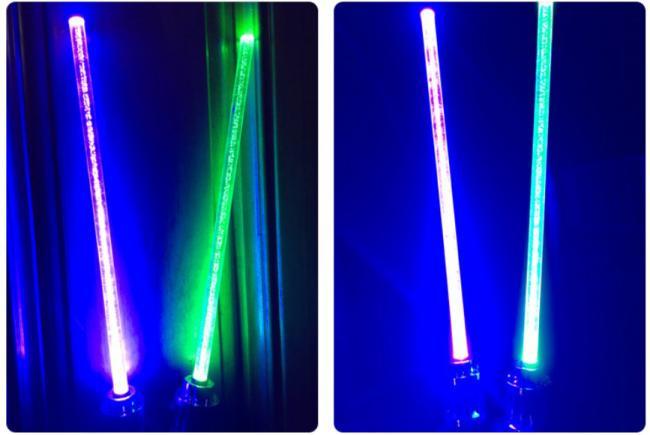 Envoyer sabre laser