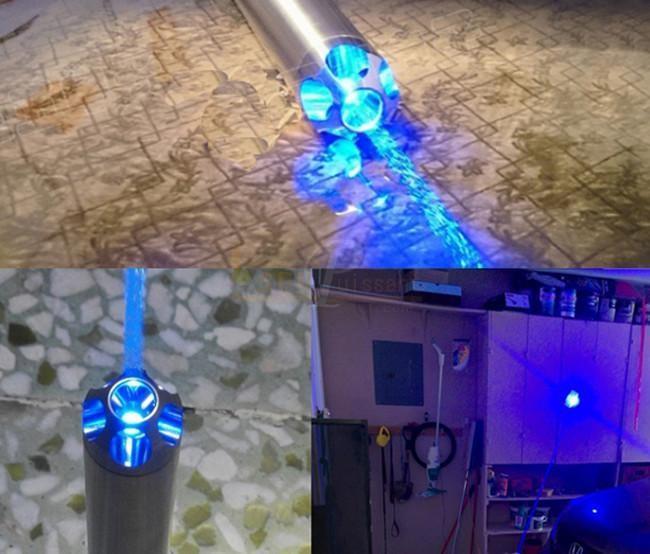 new concept 03c7a 72616 puissance haute laser bleu