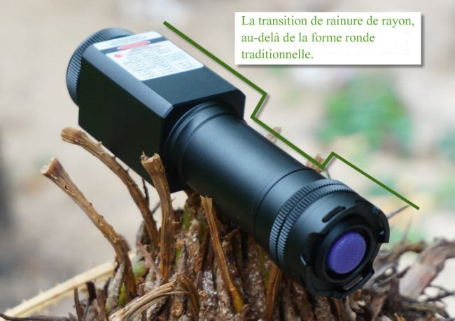 pointeur laser 465nm