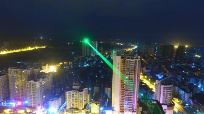 30000mW laser portée 15km