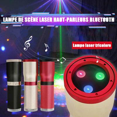 Lampe de scène tricolore haut parleurs Bluetooth