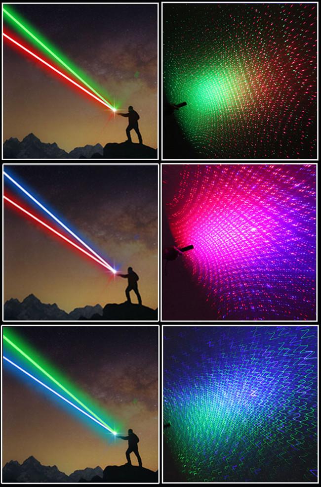 laser vert 50mW et bleu 80mW