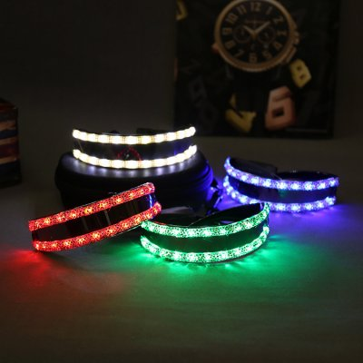 Divertissement LED lunettes luminescents