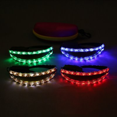 Party supplies LED lunettes luminescents