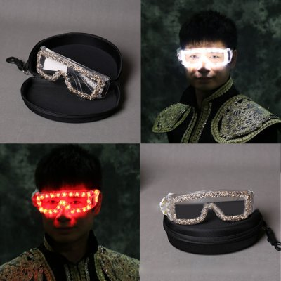 Club LED lunettes luminescents